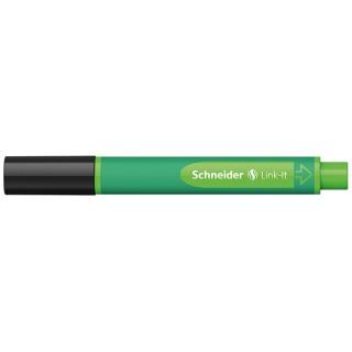 Flamaster SCHNEIDER Link-It, 1,0mm, czarny, Flamastry, Artykuły do pisania i korygowania