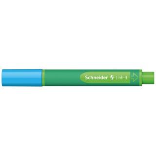 Flamaster SCHNEIDER Link-It, 1,0mm, jasnoniebieski, Flamastry, Artykuły do pisania i korygowania