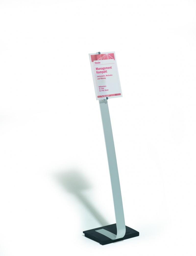 Stojak Crystl Sign, Stojaki podłogowe, Informacja i oznakowanie