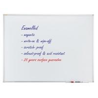 Dry-wipe & magnetic whiteboard, FRANKEN Xtra!Line, 200x100cm, porcelain, aluminum frame.
