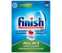 Tabletki do zmywarki FINISH All-in-one Powerball, 52szt., regular, Środki czyszczące, Artykuły higieniczne i dozowniki