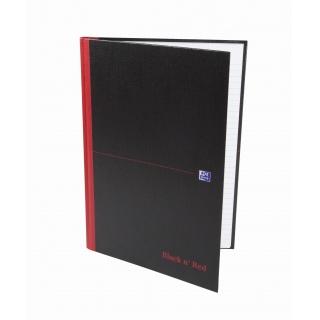 BRULION OXFORD BLACK n' RED A4 96K 90G LI, Zeszyty, Zeszyty i bloki