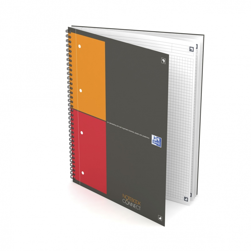 NOTEBOOK CONNECT OXFORD INTERNATIONAL 230X297 180K KR 5/5, Zeszyty, Zeszyty i bloki