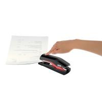Zszywacz FS Rapid Supreme Omnipress SO30 czarno-czerwony, 5 lat gwarancji, 30 kartek, Zszywacze, Drobne akcesoria biurowe