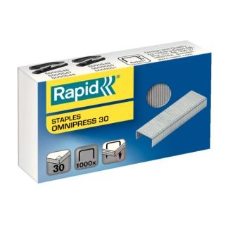 Zszywki Rapid Omnipress 30 1000 opak., Zszywki, Drobne akcesoria biurowe