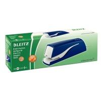Zszywacz elektryczny Leitz Nexxt Series, na zasilacz, niebieski, do 10 kartek, Zszywacze, Drobne akcesoria biurowe