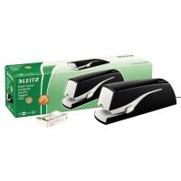 Zszywacz elektryczny Leitz Nexxt Series, na zasilacz, czarny, do 20 kartek, Zszywacze, Drobne akcesoria biurowe