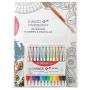 Zestaw długopisów automatycznych w etui PENAC Inketti, 0,5mm, 12szt., książka, mix kolorów, Długopisy, Artykuły do pisania i korygowania