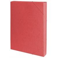 Teczka z gumką przestrz. OFFICE PRODUCTS, preszpan, A4/40, 450gsm, czerwona, Teczki przestrzenne, Archiwizacja dokumentów