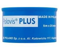 Przylepiec tkaninowy VISCOPLAST Polovis, 25mmx5m, biały, Plastry, apteczki, Artykuły higieniczne i dozowniki