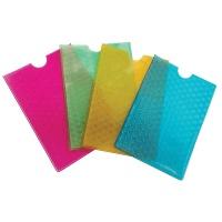 Etui na dokumenty DONAU, PVC, 9x13cm, mix kolorów, Nietypowe, Artykuły szkolne