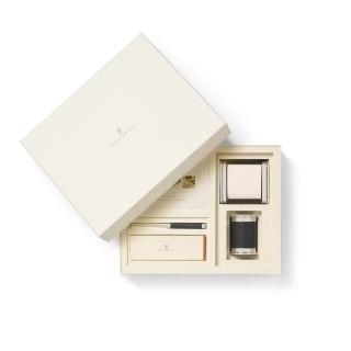 Mały zestaw akcesoriów na biurko marki Graf von Faber-Castell, czarne wykończenia., Zestawy, Organizacja na biurku