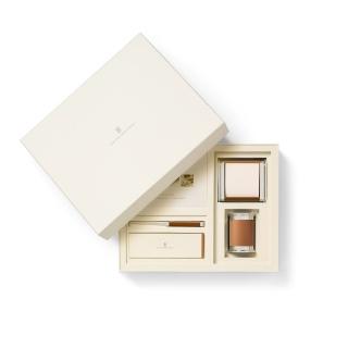 Mały zestaw akcesoriów na biurko marki Graf von Faber-Castell, brązowe wykończenia., Zestawy, Organizacja na biurku