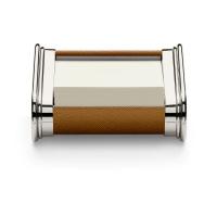 Duży zestaw akcesoriów na biurko marki Graf von Faber-Castell, brązowe wykończenia., Zestawy, Organizacja na biurku
