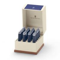 Naboje atramentowe marki Graf von Faber-Castell 20x Cobalt Blue, Naboje, Artykuły do pisania i korygowania