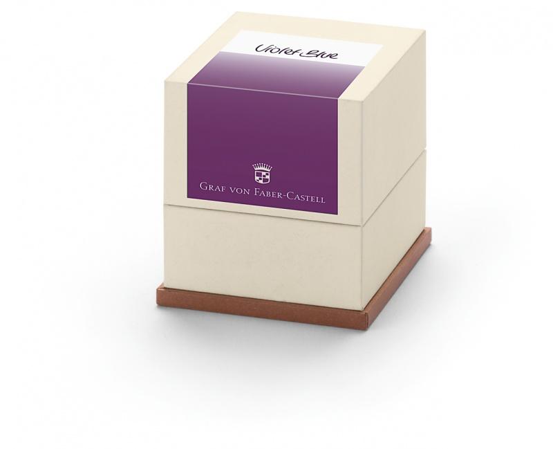 Naboje atramentowe marki Graf von Faber-Castell 20x Violet Blue, Naboje, Artykuły do pisania i korygowania