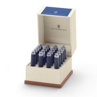 Naboje atramentowe marki Graf von Faber-Castell 20x Royal Blue, Naboje, Artykuły do pisania i korygowania