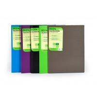 Teczka ofertowa ECO% EASY SHEET HOLDER, format A4, BRĄZOWA, Teczki ofertowe, Archiwizacja dokumentów