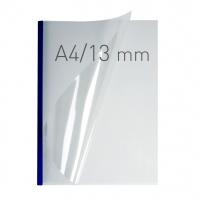 O.easyCOVER Double Clear A4 13mm niebieski 30szt, Oprawa dokumentów, Urządzenia i maszyny biurowe