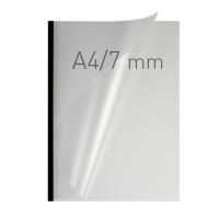 O.easyCOVER Double Half-Matt A4 7mm czarny 40szt, Oprawa dokumentów, Urządzenia i maszyny biurowe