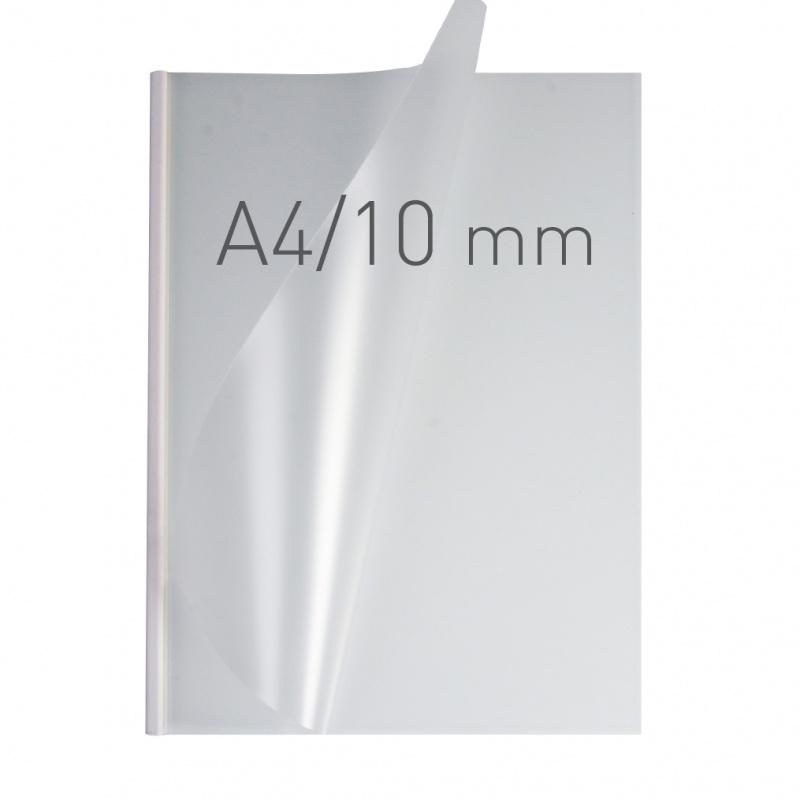 O.easyCOVER Double Half-Matt A4 10mm biały 30szt, Oprawa dokumentów, Urządzenia i maszyny biurowe