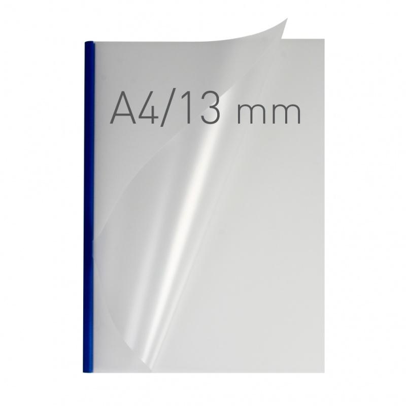O.easyCOVER Double Half-Matt A4 13mm niebieski 30szt, Oprawa dokumentów, Urządzenia i maszyny biurowe