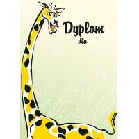 Dyplom Żyrafa 170g 25 arkuszy A4, Dyplomy, Galeria Papieru