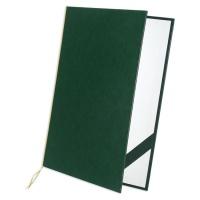Okładka Elegant zielona format A4, Okładki na dyplomy, Galeria Papieru