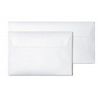 Koperta ozdobna Millenium biały DL 10 sztuk, Koperty ozdobne, Galeria Papieru
