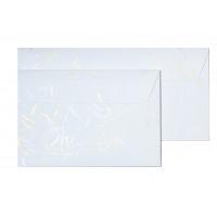 Koperta ozdobna Wiatr biały DL 10 sztuk, Koperty ozdobne, Galeria Papieru