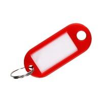 Zawieszki do kluczy w kolorze czerwonym 100sztuk w opakowaniu, Zawieszki do kluczy, Szafki i apteczki