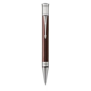 Długopis DUOFOLD PRESTIGE BURGUNDY CHEVRON CT, Długopisy, Artykuły do pisania i korygowania