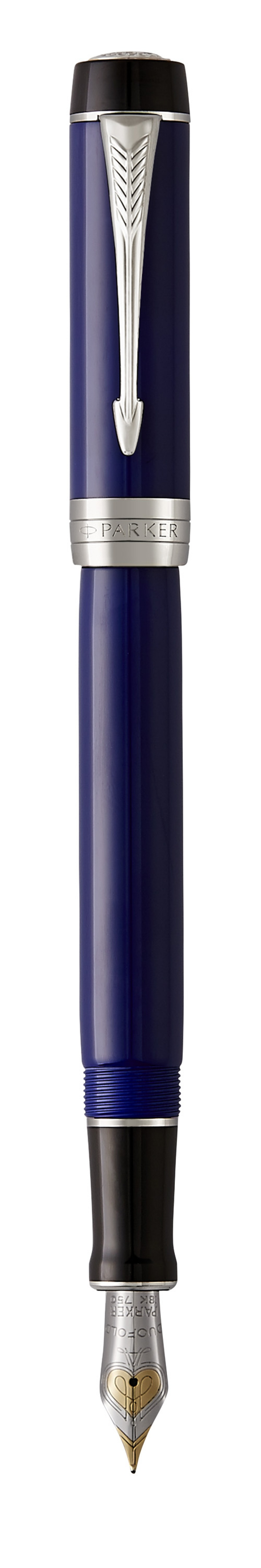 Pióro Wieczne DUOFOLD BLUE & BLACK CT, Pióra wieczne, Artykuły do pisania i korygowania