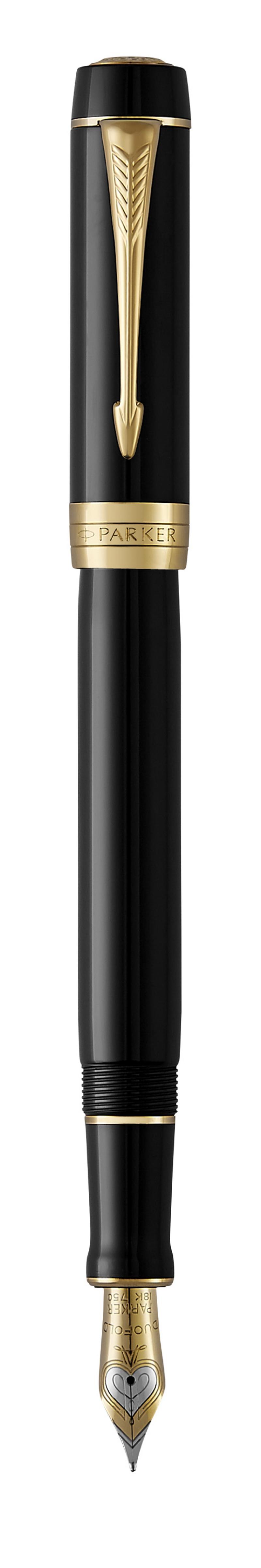Pióro Wieczne DUOFOLD BLACK GT, Pióra wieczne, Artykuły do pisania i korygowania