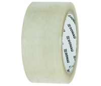 Packing tape, DONAU Solvent, 48mm, 60m, 46micr, transparent