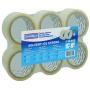 Taśma pakowa DONAU Solvent , 48mm, 60m, 46mikr., transparentna, Taśmy pakowe, Koperty i akcesoria do wysyłek
