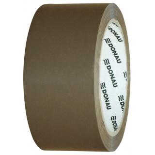 Taśma pakowa DONAU Solvent , 48mm, 60m, 46mikr., brązowa, Taśmy pakowe, Koperty i akcesoria do wysyłek