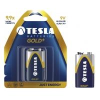 Baterie Tesla Alkaliczne 9V Gold+ 6LR61 blister, Baterie, Urządzenia i maszyny biurowe