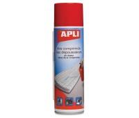 Sprężone powietrze APLI, palne, 400ml, Środki czyszczące, Akcesoria komputerowe