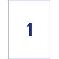 Etykiety Heavy Duty Avery Zweckform; A4, 20 ark./op., 210 x 297 mm, białe, poliestrowe, Etykiety ochronne i zabezpieczające, Etykiety