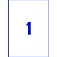 Etykiety Heavy Duty Avery Zweckform; A4, 20 ark./op., 210 x 297 mm, białe, poliestrowe -USUWALNE, Etykiety, Papier i galanteria papiernicza