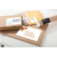 Trwałe etykiety uniwersalne Avery Zweckform, A4, 10 ark./op., 210 x 148 mm, białe, Etykiety uniwersalne Office&Home, Etykiety
