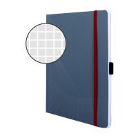 Notatnik Notizio A5; oprawa miękka; szary; kratka; 80 kartek; Avery Zweckform, Notatniki, Papier i galanteria papiernicza