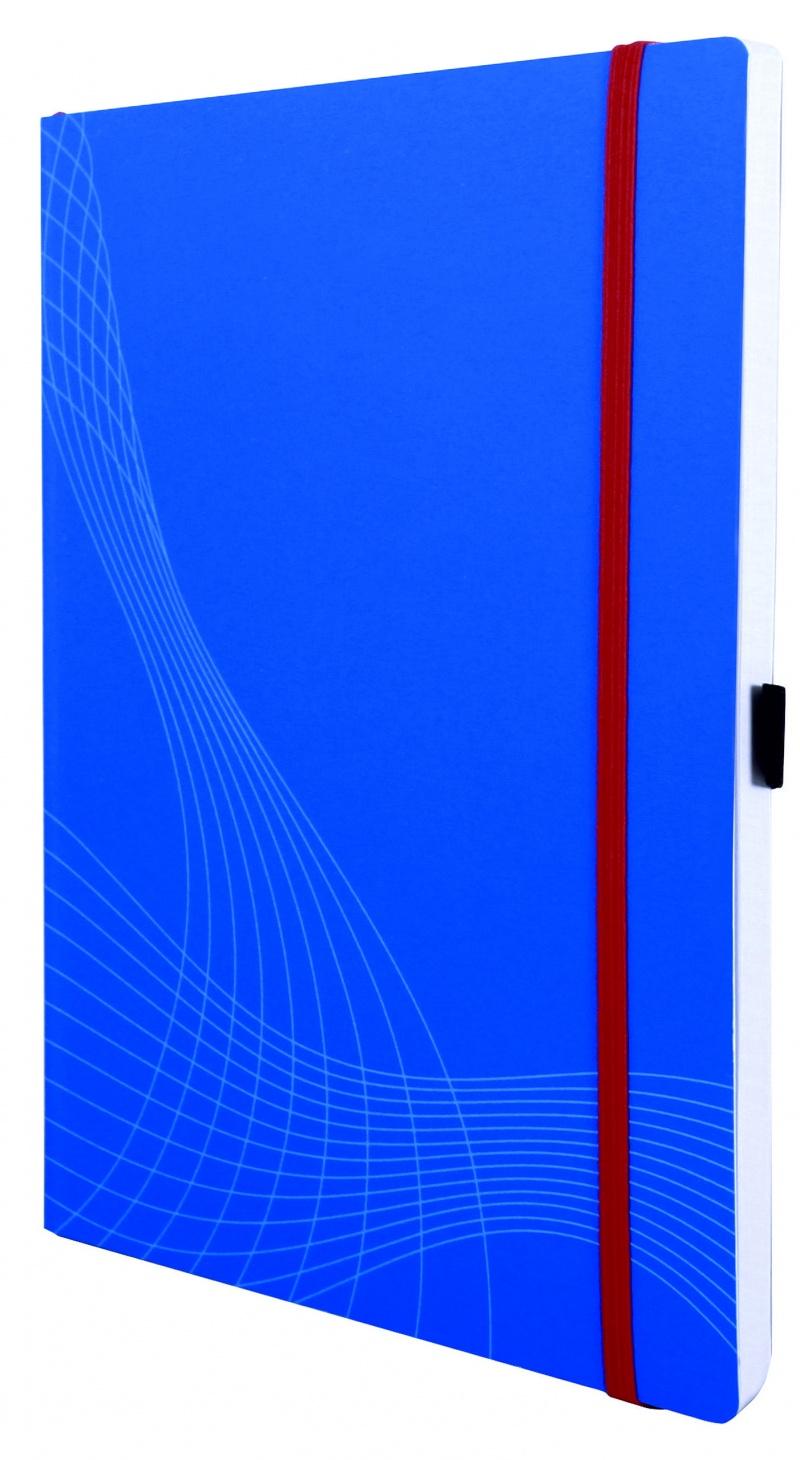 Notatnik Notizio A4; oprawa miękka; niebieski; kratka; 80 kartek; Avery Zweckform, Notatniki, Papier i galanteria papiernicza