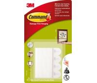 Rzepy Command™ (17202 PL), do wieszania obrazów, małe, 2 szt., białe, Haczyki, Prezentacja