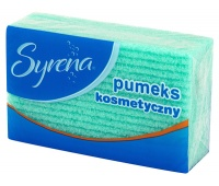 Cosmetic pumice stone SYRENA, green