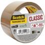 Taśma pakowa Scotch® Hot-melt (C5050S-B-EU) 50mm, 50m, brązowa, Taśmy pakowe, Koperty i akcesoria do wysyłek