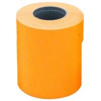 Etykiety do metkownicy dwurzędowej, fala, permanentne 26x16mm, APLI pomarańczowe 1000 szt., 6 rolek, Metkownice, Urządzenia i maszyny biurowe
