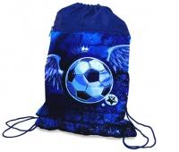 Worek szkolny DONAU Soccer Style, 42x32cm, niebieski, Metkownice, Urządzenia i maszyny biurowe