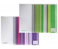 Zip envelope, DONAU, PP, A4, assorted colours